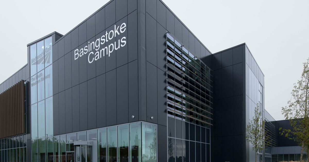 Project Spotlight Basingstoke Network Rail Campus Prater